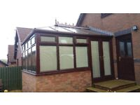 Coservatory 4m x 3.3 m first class condition.(caledonian windows)