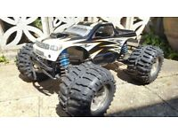 losi lst huge size, 4 WD , Nitro rc car