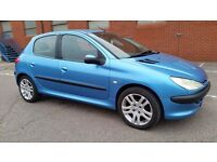 PEUGEOT 206 LOOK 2003 1.4 HDI DIESEL - FSH - ROAD TAX £30 YEAR