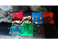 10 boys long-sleeved tops and jumpers 5-6 years