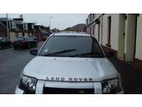 Land Rover freelander van