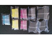 Epson compatible inks 9 total T1301,T1302,T1303,T1304