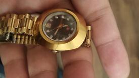 Rare Rado DiaStar Diamond Swiss Made Watch c1970