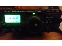 yaesu ft-897 hf to uhf transceiver