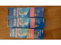 Oral B Sensitive Clean Toothbrush Heads x 16 (Brand New)