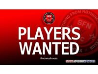 11 a side football team, East London, looking for QUALITY COMMITTED CB