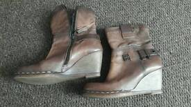 PROF SHOES boots genuine leather UK5
