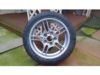 BMW E39 Sport Alloy wheel + tyre