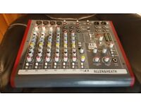 Allen and heath mini mixing desk
