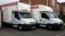 **LOW COST HOUSE REMOVALS** 🚚 NOTTINGHAM'S CITY CENTRE, LEADING MAN AND LUTON VAN WITH TAIL LIFT *
