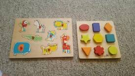 Wooden baby's puzzle