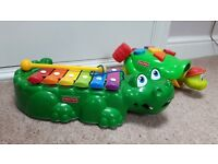 Fisher Price Crocodile Xylophone & Tappy the Turtle