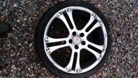 4 Alloy Wheels for Volkswagen Golf.