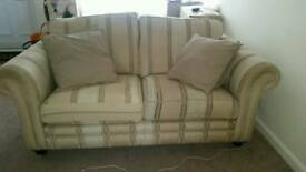 Sofa and single bed