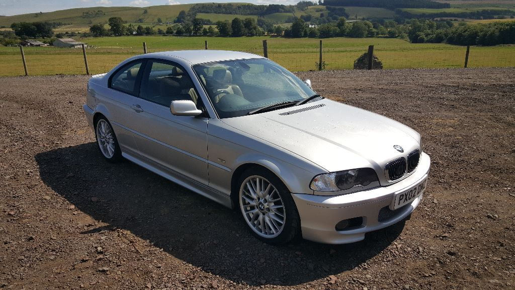 2002 bmw 330 ci msport in peebles scottish borders gumtree. Black Bedroom Furniture Sets. Home Design Ideas