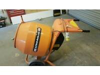 Belle 110v cement mixer used once