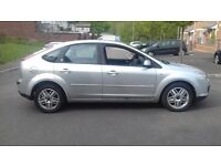 ford focus ghia tdci 20 lovely car with a brand new m.o.t drives spot on