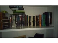 Selection of books. Approx 6 boxes.