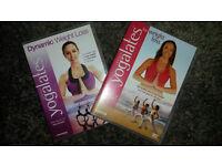 Fitness Dvds Bundle. Jillian Michaels, Yogalates, 10 Minute Solution