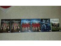 Pretty Little Liars DVDS - Complete sets of Seasons 3, 4, 5 & 6 £5 per set or £25 for all 6