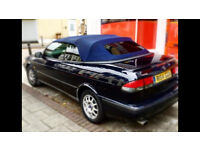 SAAB 93 Convertible - LOW MILEAGE - FSH - CLIMATE CONTROL - TINTED WINDOWS
