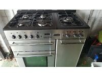 Rangemaster 90 dual fuel great oven very tidy condition