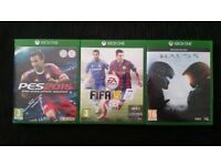 Xbox 1 games.
