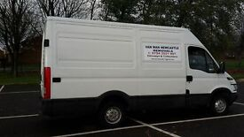 VAN MAN NEWCASTLE fully insured available 7 days