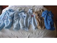 Baby padded winter suits