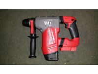 Milwaukee M18 FUEL 1-1/8&quot SDS Plus Rotary Hammer (Bare Tool) 2715-20 Latest model 2018 Brushless