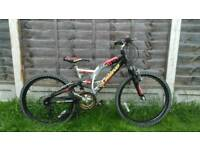 "Boys 24"" wheel mountain bike"