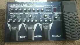 Boss ME-50B bass guitar fx pedal