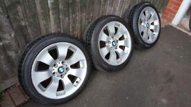 "Bmw spare alloy wheels 17"""