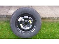 NEW Steel Spear wheel tyre Michelin 195 / 65 R 15 from a Citroen C4
