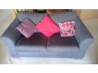 Mocha Brown 2 Seater Sofa Bed in excellent condition (Next Toulouse)