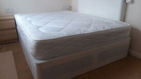 New bed and new matress for sale £120 Stratford, Wingfield road