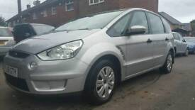 58 Plate 7 Seater Ford S-Max 1.8 TDCi Duratorq 12 Months MOT