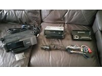 Sony MiniDisc Car Stereo with 10 CD Multi Changer and steering Column Joystick remote