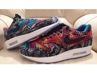 """BRAND NEW Nike Air Max 1 """"What The Pendleton"""" Limited Edition 1 of 500"""