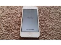 iphone 5 16GB Silver in excellent condition with box