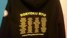£35 Karate jujitsu judo Marshall art jumper hoodie gear s 8 10