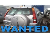 HONDA CR-V JEEP AUTOMATIC WANTED!!!!