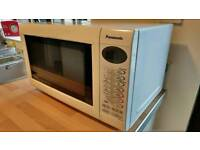 Panasonic microwave unused with grill and oven