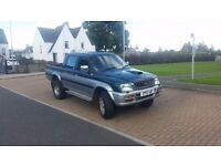 Mitsubishi L200 pickup 2.5 diesel , years test , ideal workhorse for any business, bargain only£1250