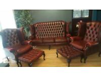 High Back Chesterfield suite