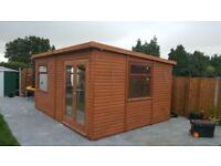 Bespoke Log Cabins For Sale, Made To Your Requirements.
