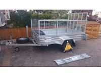 8x5 tipper trailer