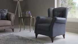 Set Of Two Luxury Bellona Armchairs
