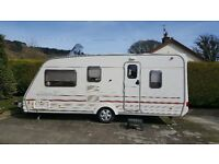 5 Berth Caravan with Awning in Very Good Condition and no Damp