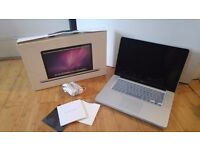 Macbook Pro 15inch 2.3GHZ QUAD CORE i7 TOP SPEC FULLY LOADED WITH BOX